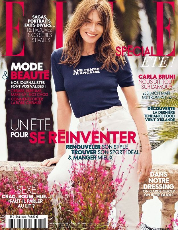 carla bruni si j apprenais que mon mari me trompe ses confidences dans elle cette. Black Bedroom Furniture Sets. Home Design Ideas