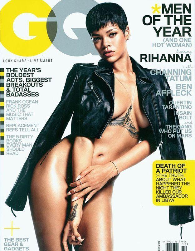 Rihanna presque nue en couverture de « GQ »
