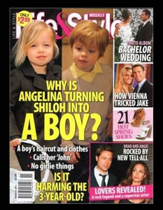 Shiloh Jolie-Pitt : transformée en garçon !