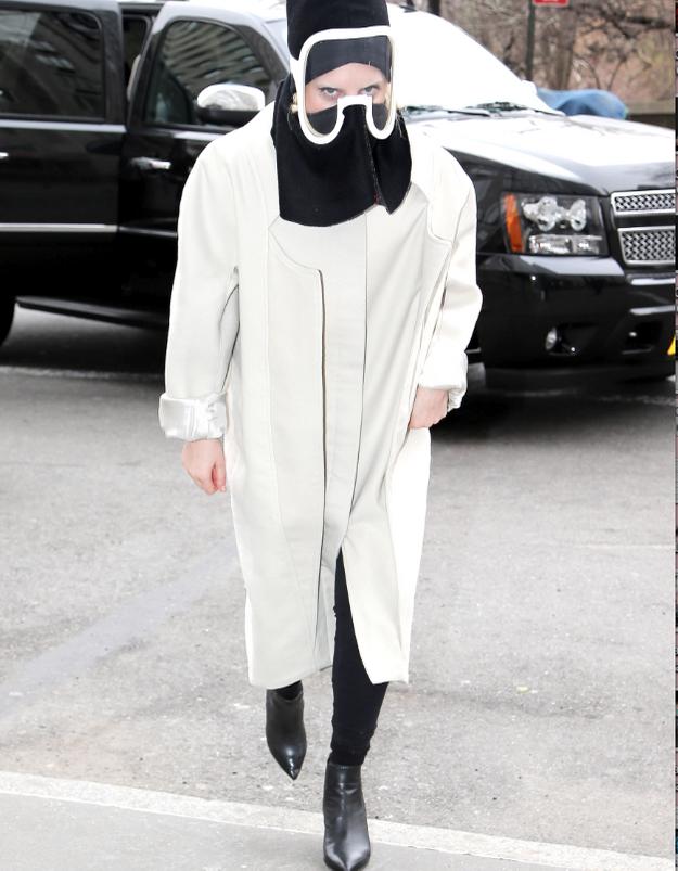 Le look du jour: Lady Gaga cachée sous son masque