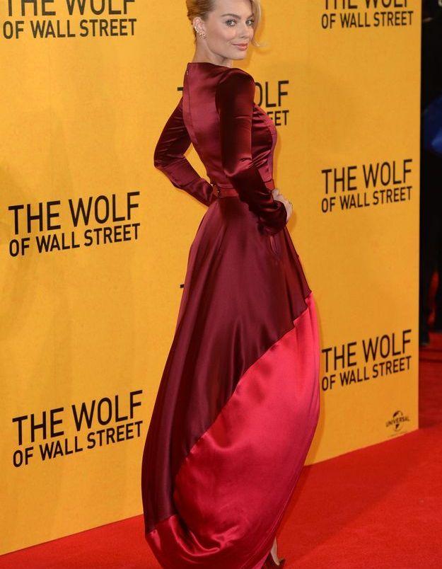 Le look du jour: Margot Robbie à l'avant-première du «Loup de Wall Street»