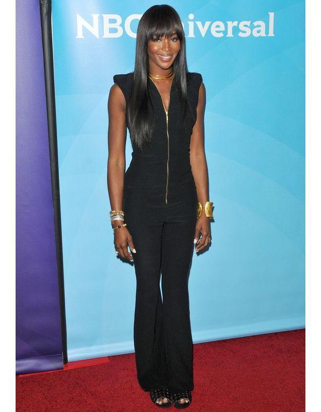 Le look du jour : Naomi Campbell