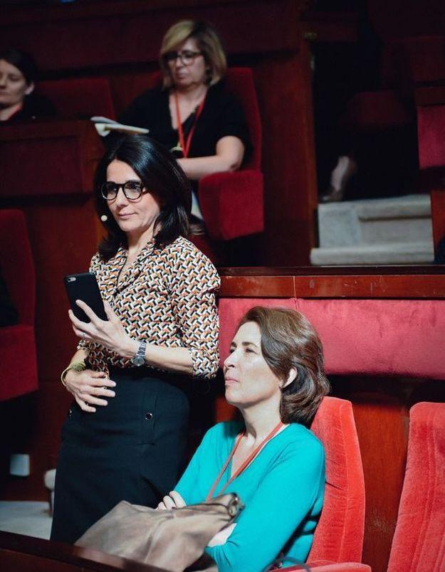 Anne-Cécile Sarfati et Flore Segalen