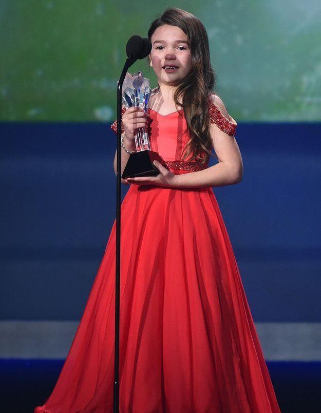 Critics' Choice Awards 2018 : cette lauréate de 7 ans invite tout le monde à aller manger une glace