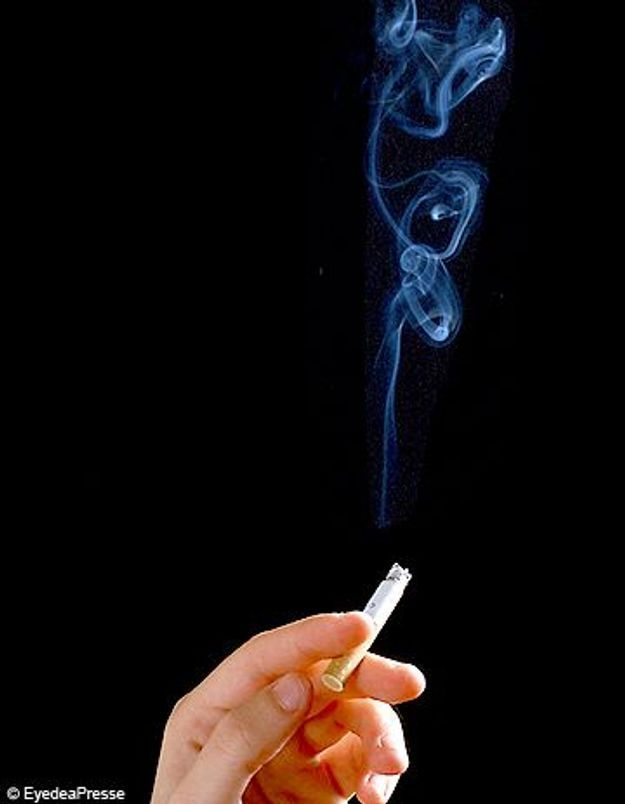 Si cesser de fumer dangereusement dans 60 ans
