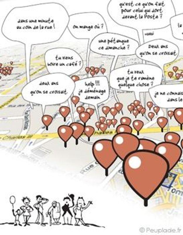 L'esprit de quartier envahit le web