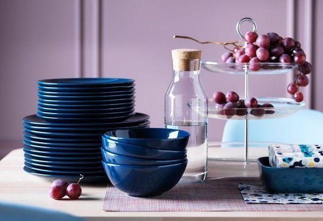 Des assiettes pas chères pour une vaisselle facilement renouvelable