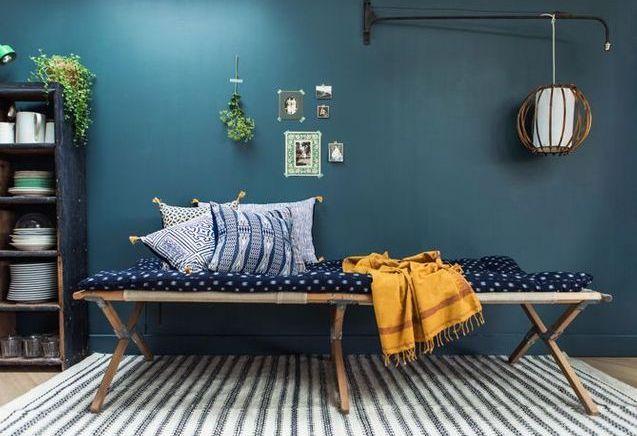 L'inspiration du jour : la collection bleue de Jamini