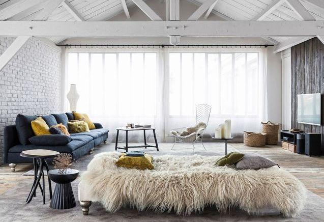 visites d 39 int rieurs de maisons d 39 appartements et de lofts elle d coration. Black Bedroom Furniture Sets. Home Design Ideas