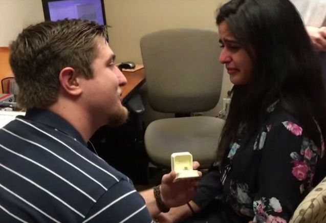 #PrêtàLiker : il fait sa demande en mariage le jour où elle entend pour la première fois
