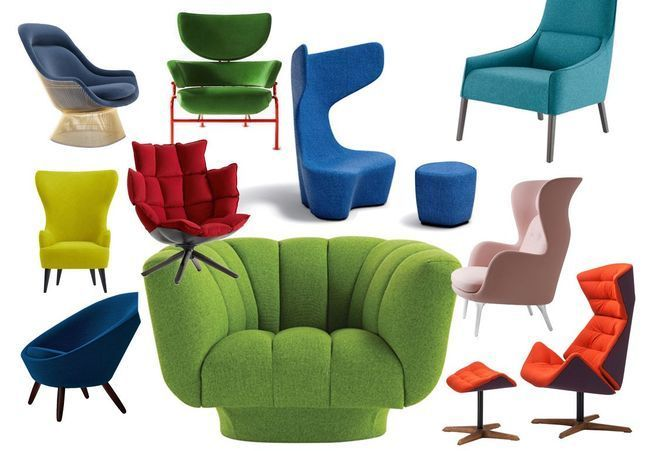 Des fauteuils colorés pour réveiller votre intérieur, ça vous tente ?