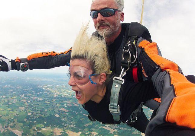 J'ai testé pour vous la chute libre… et j'ai adoré !