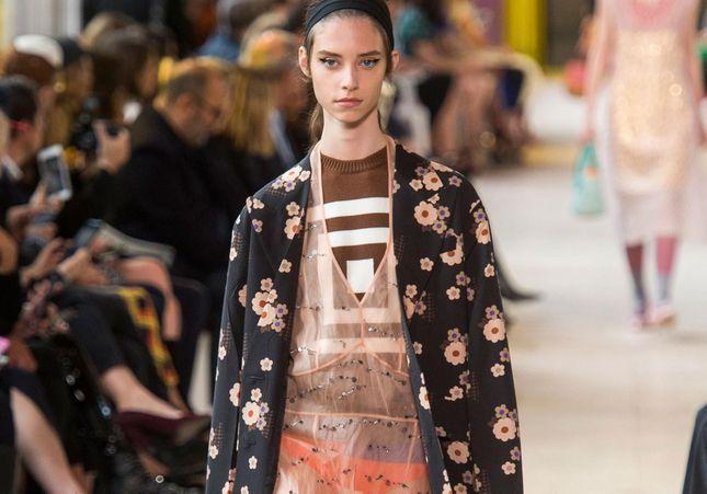 Fashion Week de Paris : Miu-Miu , sublime mélange des genres