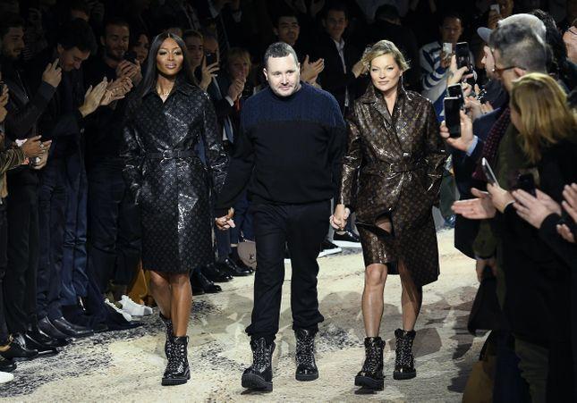 Kate Moss et Naomi Campbell, la surprise à la fin du show Louis Vuitton