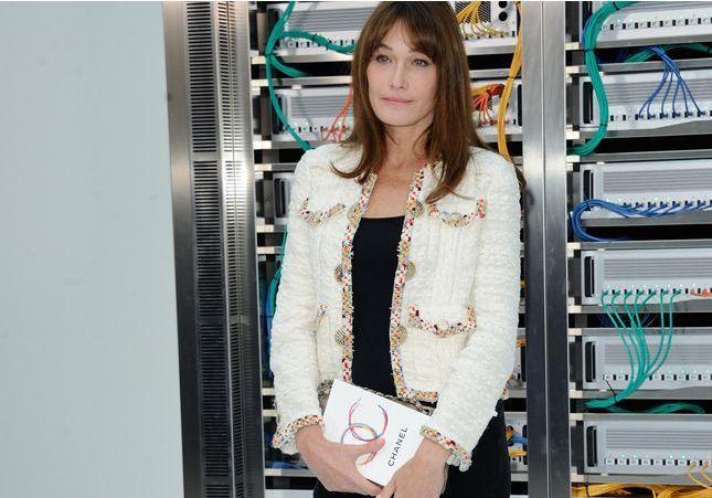 Carla Bruni-Sarkozy, des podiums à l'Elysée