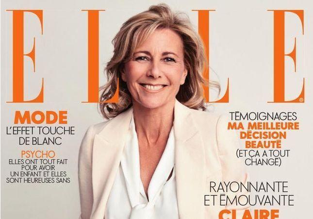 """Claire Chazal en une de ELLE : elle se confie sur sa relation """"passionnée"""" avec Patrick Poivre d'Arvor"""