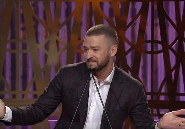 Le discours inspirant (et hilarant) de Justin Timberlake aux femmes