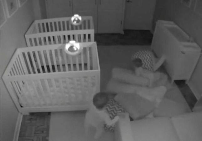 Que font vos enfants la nuit ? La vidéo qui va forcément vous faire craquer