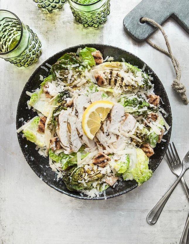 Salade caesar au BBQ