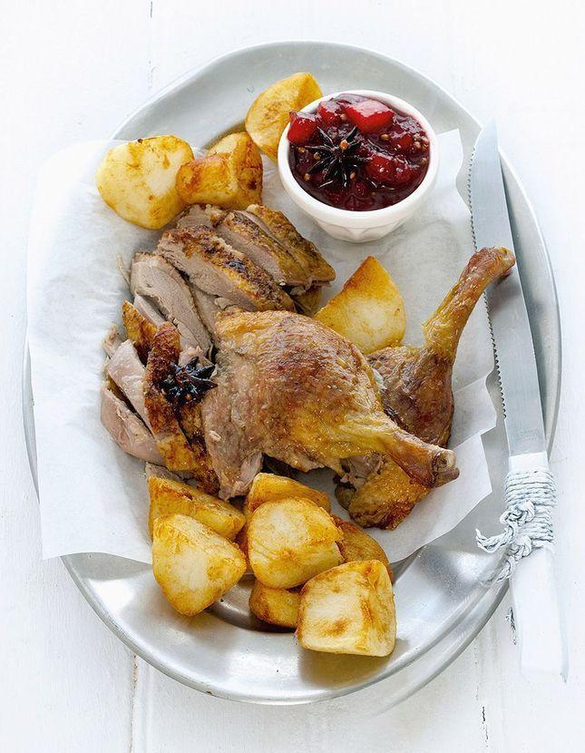 Canard de no l recettes de canard en confit magret r ti pour no l elle - Magret de canard noel ...