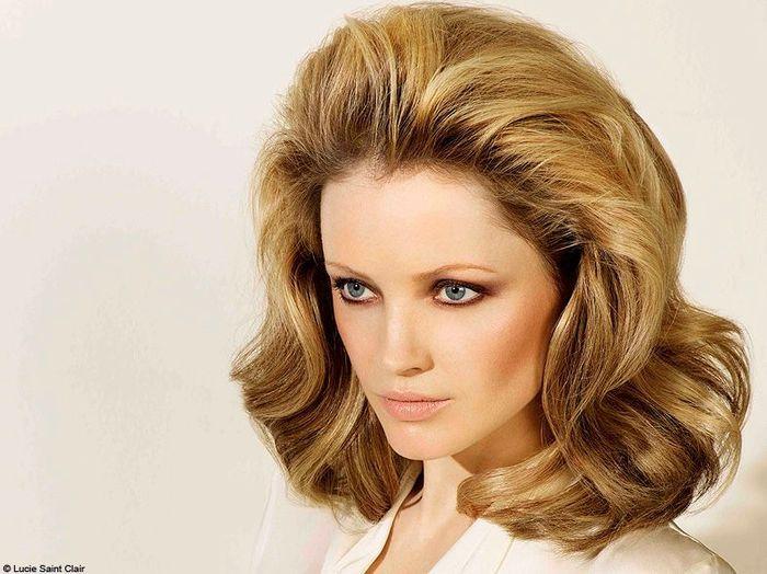 Bien connu Brushing Dallas Lucie Saint-Clair - 100 coiffures printemps/été  WP77