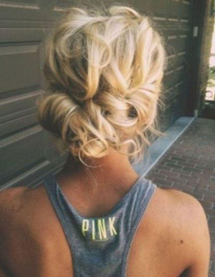 Top Des idées de coiffures faciles - Elle JB61