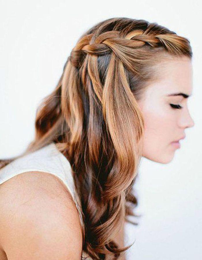 Préférence Coiffure cheveux mi-longs ondulés automne-hiver 2016 - Cheveux mi  DP59