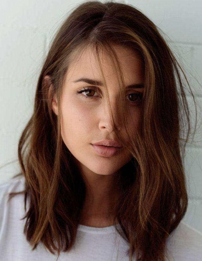 Top Coiffure visage rond ovale - 40 coiffures canon pour les visages  VR61