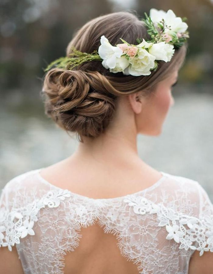 Fabuleux Coiffure mariée : les plus belles coiffures de mariée tendance en  ZY88