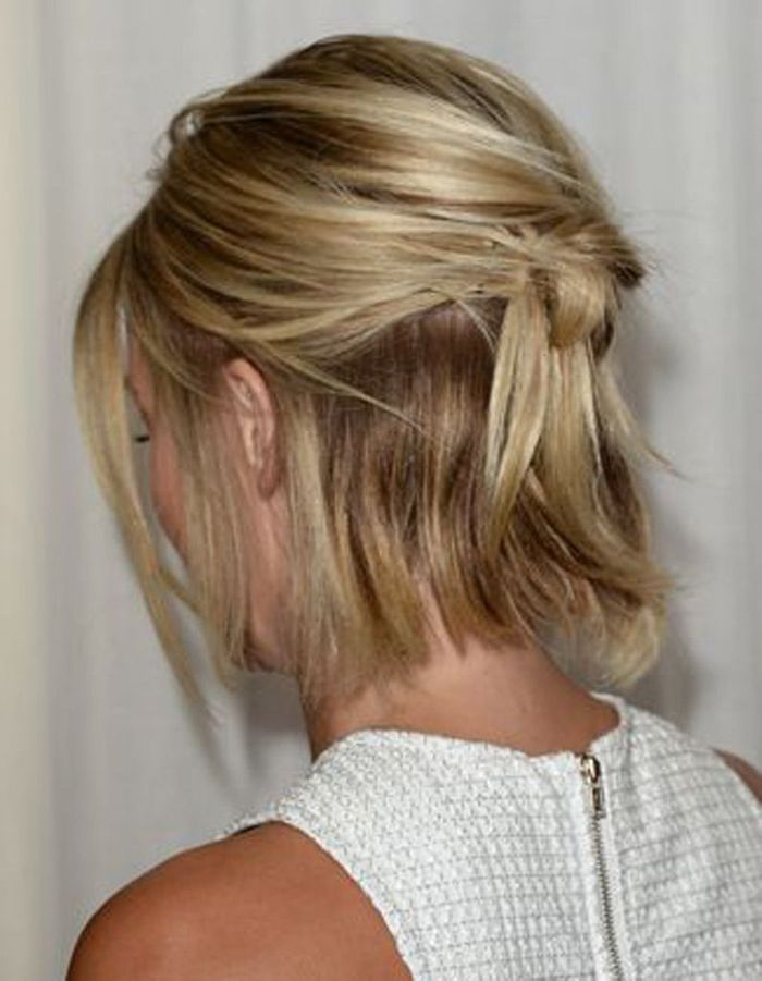Célèbre Coiffure mariée sur carré plongeant - Les plus jolies coiffures de  ZR53