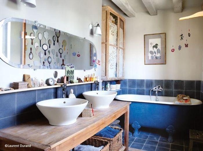Top Tendance : les salles de bains à l'ancienne - Elle Décoration ZR34