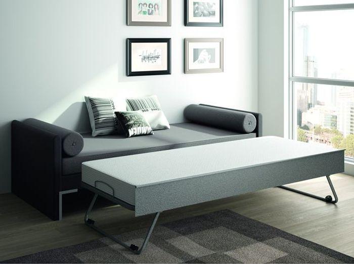 25 lits gigognes pour gagner en espace et en confort elle d coration. Black Bedroom Furniture Sets. Home Design Ideas