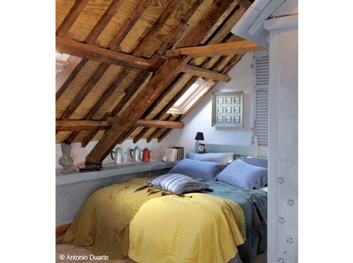 Bekannt 35 chambres sous les combles - Elle Décoration NP98