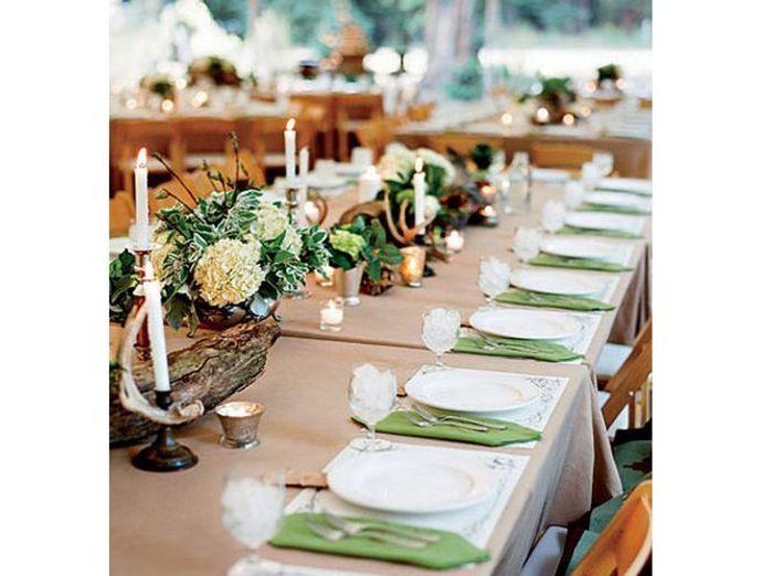 Souvent 15 idées déco pour un joli centre de table de mariage - Elle  BA01