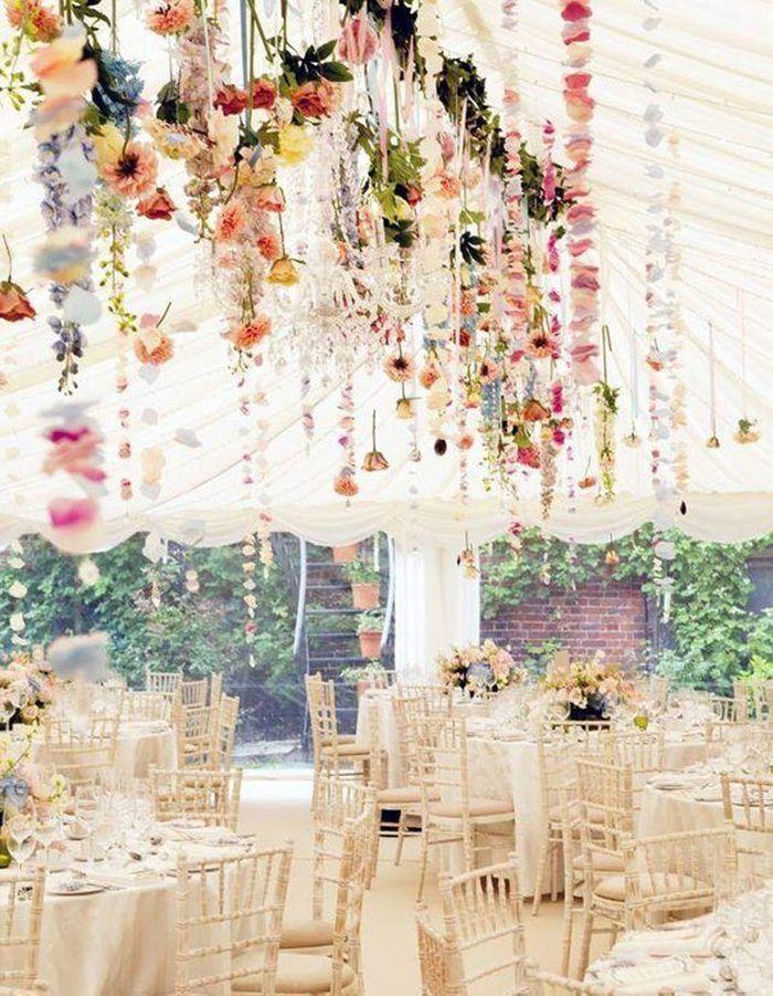 D co de mariage on dit 39 oui 39 ces 50 id es trouv es sur pinterest elle d coration - Decoration mariage fleur ...