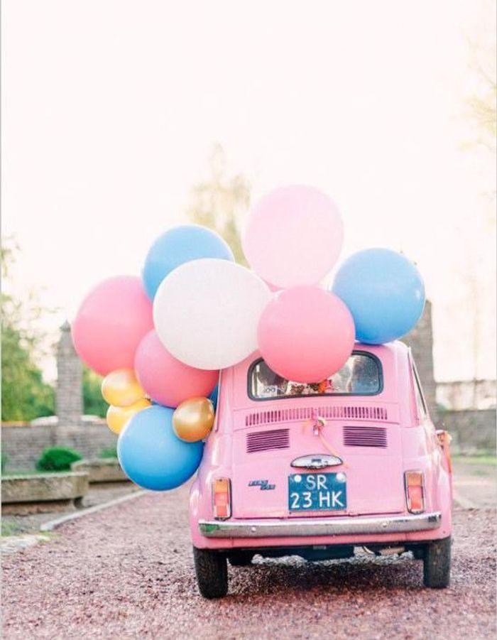 Exceptionnel Décoration voiture mariage : comment décorer sa voiture de mariage  ZZ18