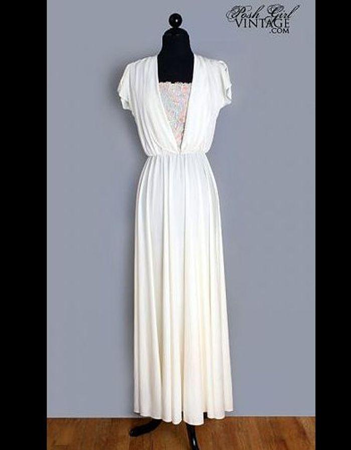 Robe longue annee 80