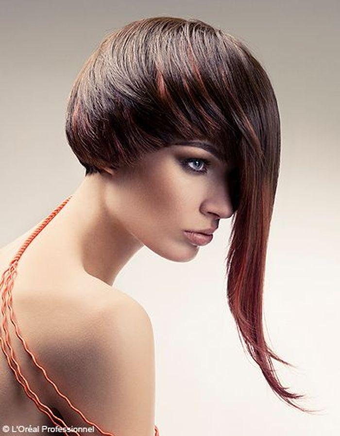 court d jant l or al professionnel 100 coiffures printemps t 2012 elle. Black Bedroom Furniture Sets. Home Design Ideas