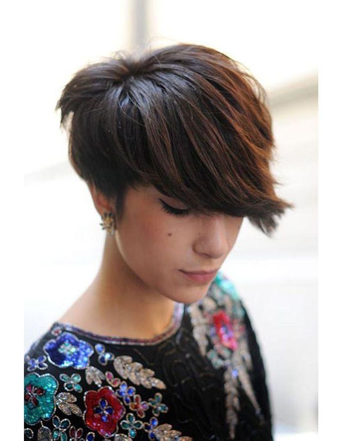 coiffure cheveux courts femme hiver 2015 les plus belles coupes courtes de 2018 elle. Black Bedroom Furniture Sets. Home Design Ideas