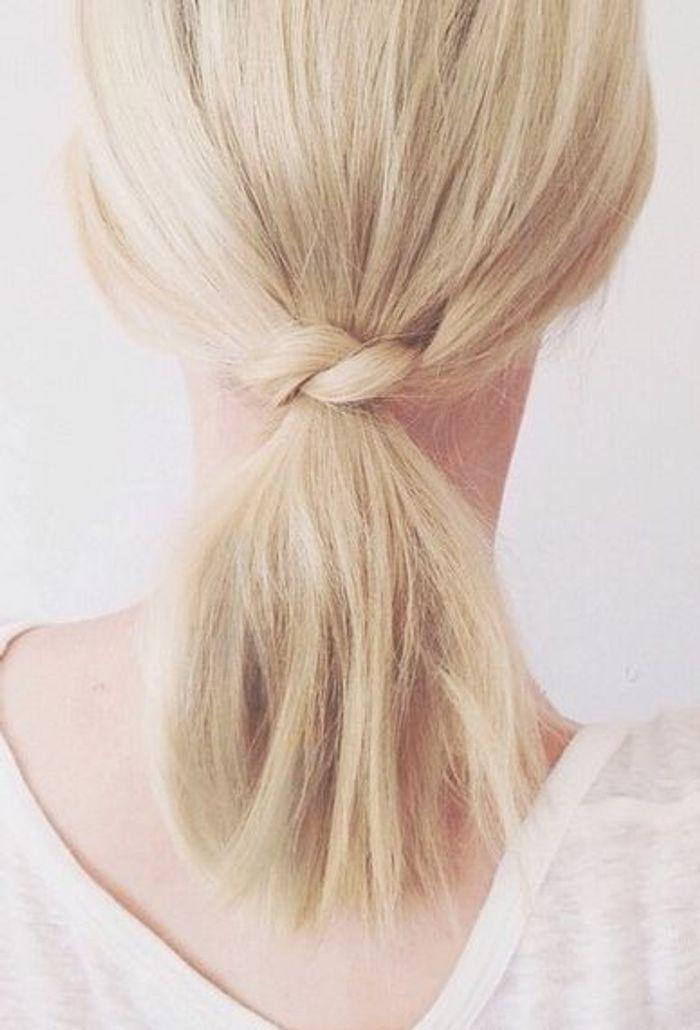 cheveux attach s et nou s automne hiver 2016 cheveux attach s 60 id es de coiffures chics ou. Black Bedroom Furniture Sets. Home Design Ideas