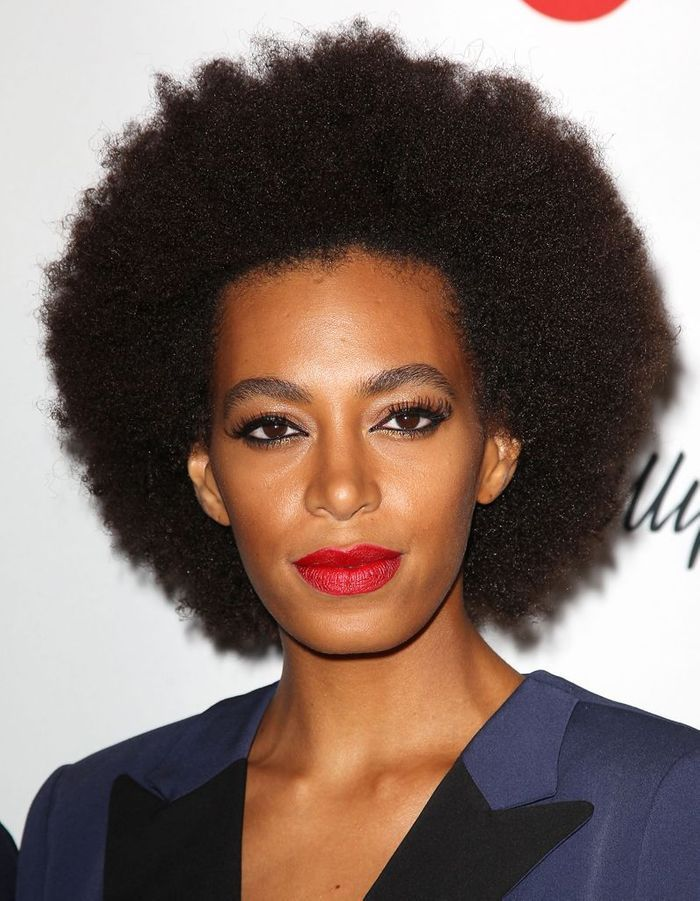 Solange Knowles Et Sa Coupe Afro Cheveux Ces Stars Qui