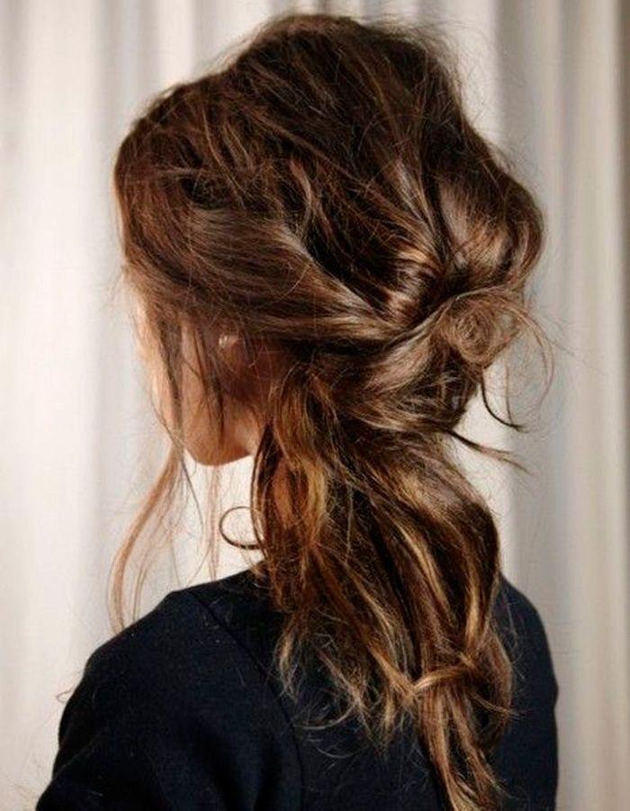 Coiffure coiffée décoiffée wavy - 20 idées de coiffures coiffées ...