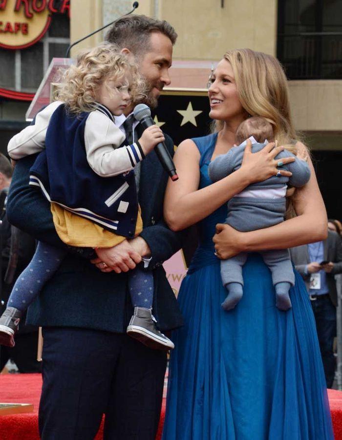 Les cheveux bouclés de James, la fille aînée de Blake Lively et Ryan Renolds