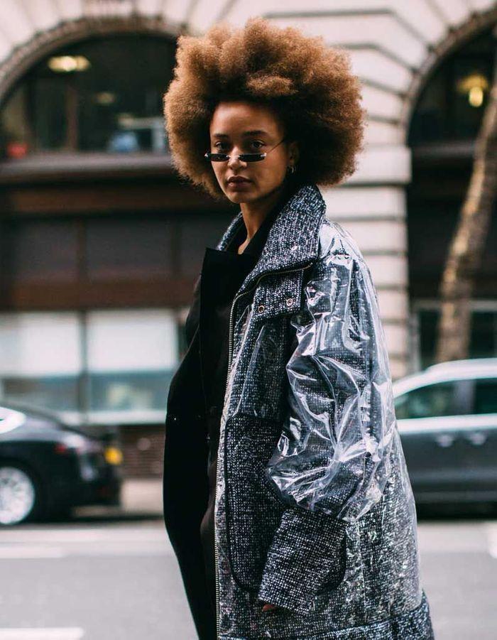 Les Plus Belles Coiffures Street Style De La Fashion Week