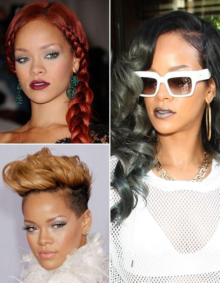 Rihanna : toutes ses coupes en images