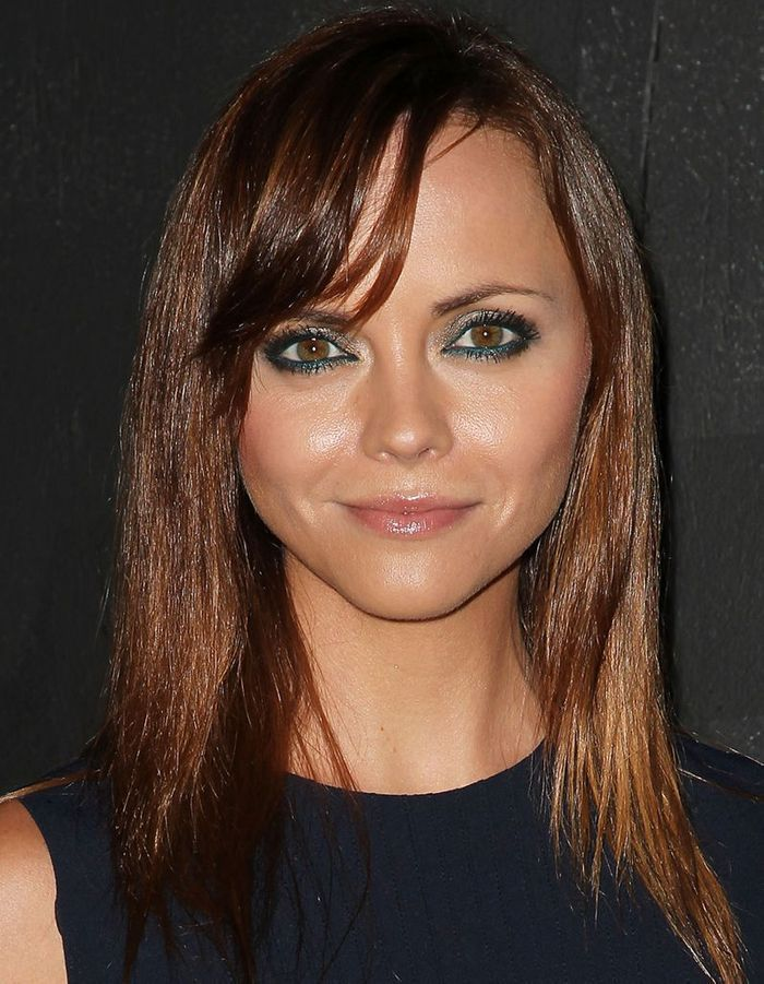 christina ricci en brune stars les pr f rez vous. Black Bedroom Furniture Sets. Home Design Ideas