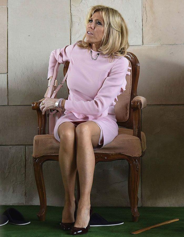 Le carré de Brigitte Macron