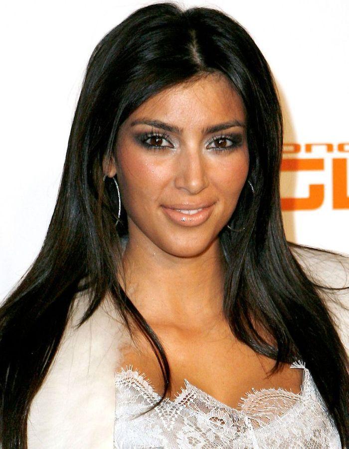 Coupe Cheveux Long Kim Kardashian