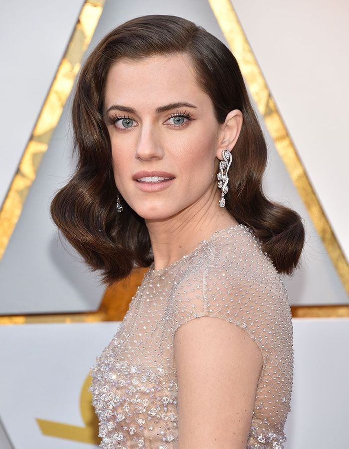 La coiffure hollywoodienne d'Allison Williams