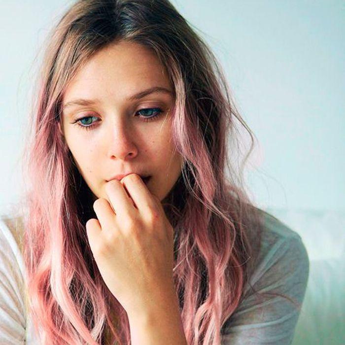 m ches rose pastel comment les filles styl es portent le rainbow hair elle. Black Bedroom Furniture Sets. Home Design Ideas